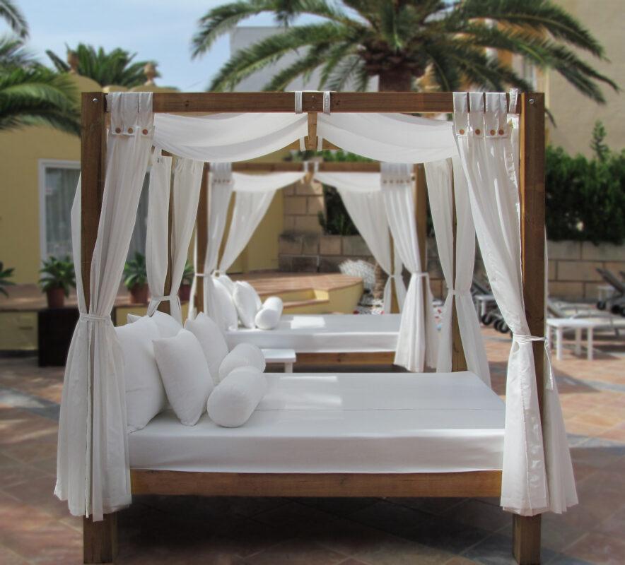 camas y tumbonas